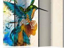 Paraván - Bird's Music II [Room Dividers]